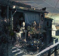 Dreams And Nightmares, Environmental Art, Scarlet Witch, Anime Art, Illustration Art, Animation, Cartoon, Landscape, Wallpaper