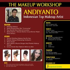 THE MAKEUP WORKSHOP  ANDIYANTO Indonesian Top Makeup Artist