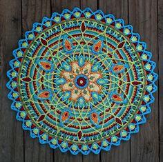 Ravelry: Overlay Mandala No. 5 pattern by CAROcreated design