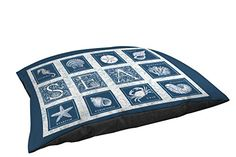 Manual Woodworkers  Weavers IndoorOutdoor Pet Bed Sea Scapes Sea Tiles >>> See this great product. (This is an affiliate link and I receive a commission for the sales)