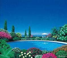 Poolside, Hiroshi Nagai