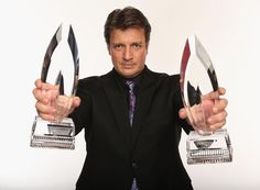 Castle's Nathan Fillion has earned a spot on our Highest Paid TV Actors List. Pulling in $12 million this year, he tied with two other small screen actors. Check out who they are here...
