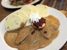 Oblíbená svíčková omáčka Easy Cooking, Pudding, Breakfast, Desserts, Food, Bohemian, Morning Coffee, Tailgate Desserts, Deserts