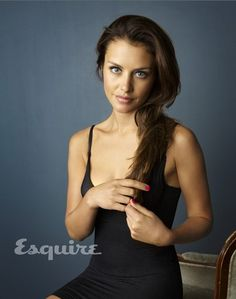 hannah ware - so beautiful! I'm obsessed with her, she is so pretty!!