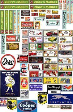 Various Signage