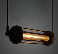 NEW 2014 RARE large Vintage style Industrial Edison ceiling Lamp old fashion with T30 tube light bulb