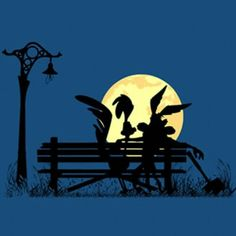 Looney Tunes Characters, Classic Cartoon Characters, Looney Tunes Cartoons, Old Cartoons, Classic Cartoons, Bip Bip Et Coyote, Space Artwork, Arte Horror, Bugs Bunny
