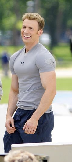 If anyone knows where I can buy his shirt.... Shield Under Armor shirt? Yes please.