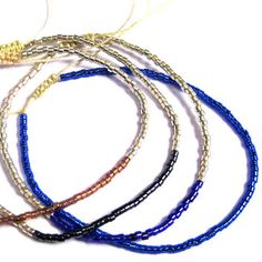 Romantic bracelets  By Guanábana Handmade