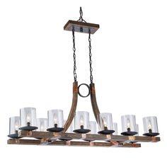 Filament Design Miller 12-Light Copper Island Light-CLI-ACG480000 - The Home Depot