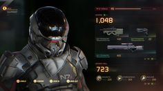 2017 Personal UI artwork with Mass Effect Andromeda's resources Sci Fi Games, Fps Games, Ui Website, Game Gui, Game Ui Design, Cyberpunk Character, Mobile Web Design, Game Interface, Game Theory