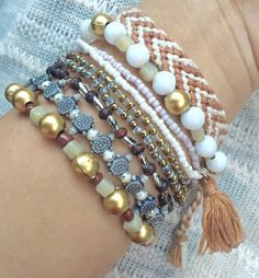 Tips for Accessorizing: Stacking Bracelets ♡ - Thoughts by Thea