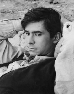 Anthony Perkins, 1950s - Lead Actor in PSYCHO Thriller movie!