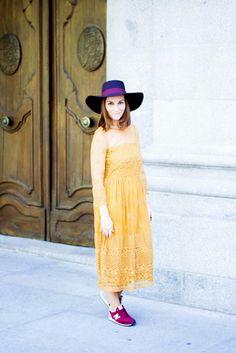 La Chimenea de las Hadas | Blog de Moda y Lifestyle | Buscando el lado bonito de las cosas: Vestido mostaza zara