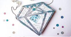 Diamond-shaped photo album by Maria Lillepruun