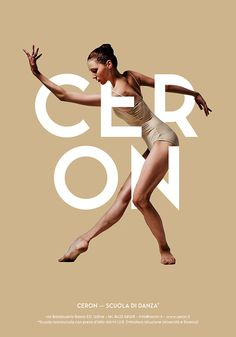 Poster / Ceron Dance School - Posters Design on Behance