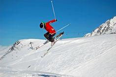 Action in Les Deux Alps