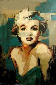 """Marilyn"" by Dinkunst @ VirtualGallery.com"