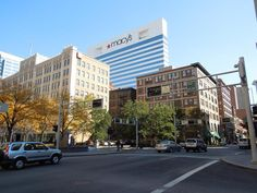 View of the Macy's building from Piatt Park (Paige Kranbuhl)