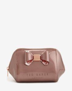 7529ec324d6 Rose Gold Makeup Bag, Ted Baker Makeup, Custom Makeup Bags, Personalized  Makeup Bags