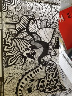 Magic Mistakes and Mayhem: Zentangle Magic... check these out!