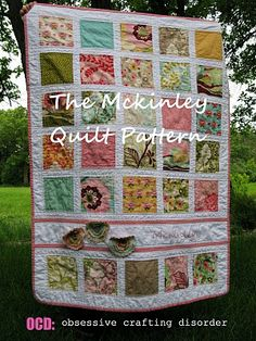 ocd: obsessive crafting disorder: The Mckinley Quilt Pattern