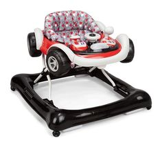 Baby Walker Car Activity Toddler Walk Lights Sounds Toy Harness Learn Bouncer