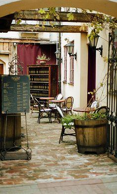 Wine restaurant in Tallinn, Estonia. www.haisitu.ro