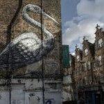 Brick Lane graffiti street art by Street Art London - win two tickets for walking tour! Street Art London, London Art, London Tours, London Travel, Brick Lane, London Photos, People Art, Street Artists, Banksy