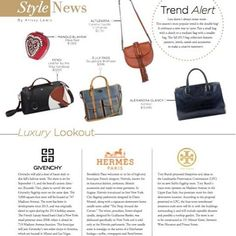 f2002ca9403f Our Ashdon alligator tote in Downtown Magazine - Fall 2015. Thank you   iamfeistyy
