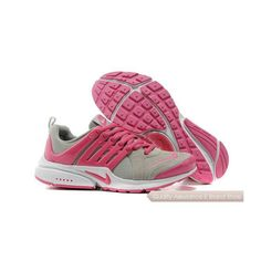 buy online 5f571 4cbbf Nike Air Presto Womens Anti Fur Sneakers Gray Peach Blossom