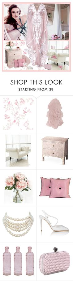 """Untitled #1468"" by jothomas ❤ liked on Polyvore featuring interior, interiors, interior design, home, home decor, interior decorating, Amara, Neiman Marcus, Naeem Khan and Home Decorators Collection"