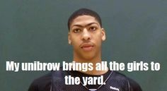 Haha oh Anthony Davis you are my favorite!