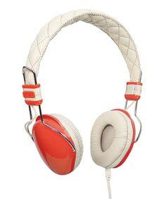 Orange Amplitone Headphones