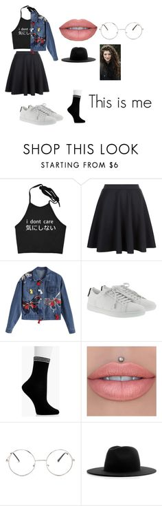 """This is me"" by kylakirkpatrick on Polyvore featuring Yves Saint Laurent, Boohoo, Nasty Gal and Études"