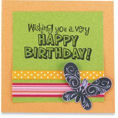 Birthday Card idea @ Michaels
