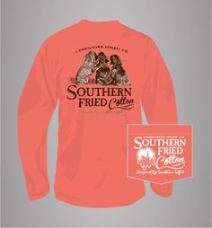 1507a274 Southern Fried Cotton Best Friends Long Sleeve T-Shirt Costumes For Women,  Everyday Outfits
