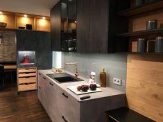 ewe Concreto beton metallgrau   ewe Küchen Küchen Design, Modern, Conference Room, Sweet Home, Kitchen Cabinets, Furniture, Home Decor, Garage, Kitchen Inspiration