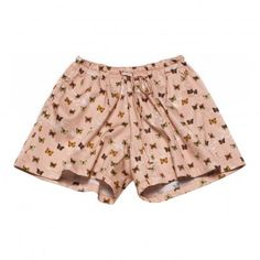 Ravie Butterflies Shorts Pale pink  Gold Belgium