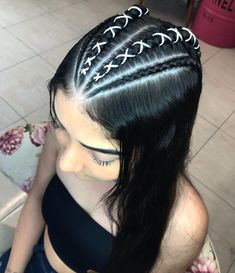 Teen Hairstyles, Hairstyles For School, Weave Hairstyles, African Hairstyles, Wedding Hairstyles, Medium Hair Styles, Short Hair Styles, Girl Hair Dos, Simple Prom Hair