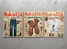 Made in U.S.A. Catalog 1975 / Made in U.S.A. - 2 Scrapbook of America 1976 / Made in U.S.A. 1985 3冊セット