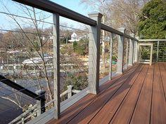 cable deck railing ideas - Google Search
