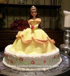 Belle Birthday Cake ideas for my granddaughter Chloe's cake.