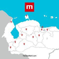 ¡Visita Tiendas Marli! Nuestra red de tiendas están ubicadas en Barquisimeto, Zulia, Táchira, Cojedes, Mérida, Carabobo, Portuguesa, Falcón, Aragua, Barinas y Trujillo.