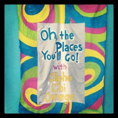 Oh the places you'll go when you go chi o. Future rush theme?