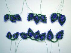 Сегодня мы расскажем вам, как сделать листья из бисера при помощи пошагового мастер-класса с фото и схемы плетения.