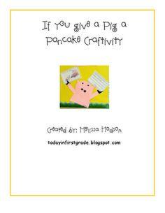 If you give a pig a pancake... pattern freebie!