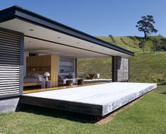 Summer house in New Zealand Modern Interior, Interior And Exterior, Steel Framing, Architecture Résidentielle, My Dream Home, Building A House, House Plans, Modern Design, My House