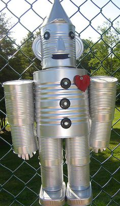 can tin man instructions | go to Worth The Whisk for instructions to make your own tin can man