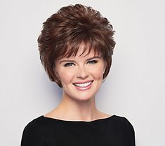 The voluminous crop wig is a short, allover layered cut that allows for varied styling options. Short Layered Haircuts, Modern Haircuts, Short Bob Hairstyles, Wig Hairstyles, Hairstyle Men, Boy Haircuts, Pixie Haircuts, Wedding Hairstyles, Medium Hairstyles